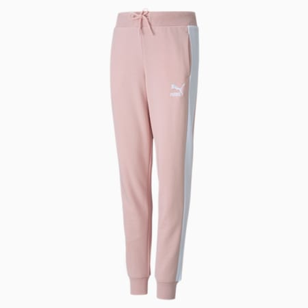 Pantalons en molletonClassics T7, fille, enfant, Peau de pêche, petit
