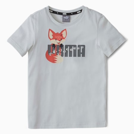 T-Shirt Animals pour enfant, Vaporous Gray, small