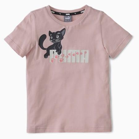 Animals Kinder T-Shirt, Peachskin, small