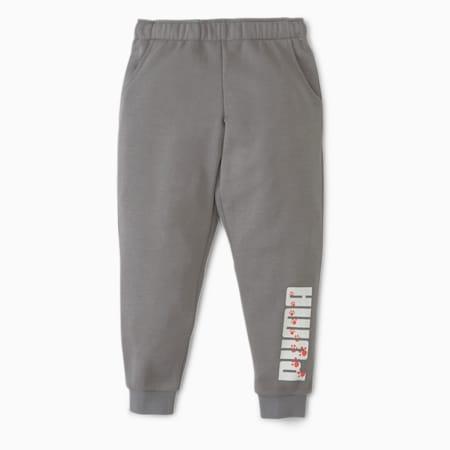 Animals Kids' Sweatpants, Ultra Gray, small