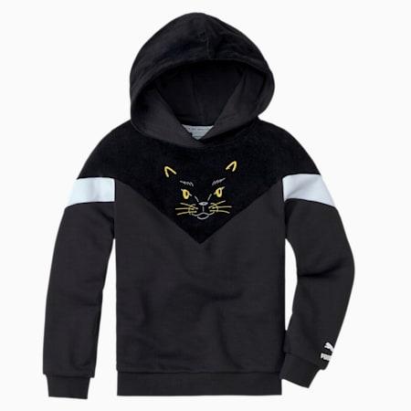 Animals MCS Kids' Hoodie, Puma Black, small-SEA