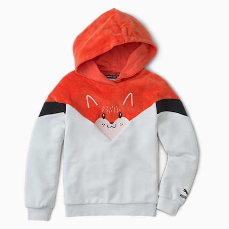 Animals Kids' MCS Hoodie, Vaporous Gray, small