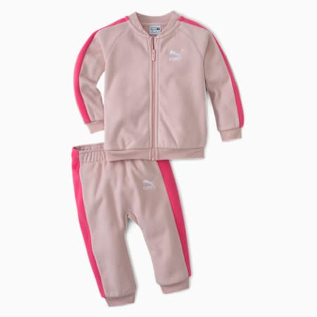 Minicats Polar Fleece Babies' Jogger, Peachskin, small