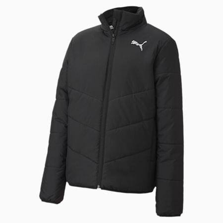 Essentials Youth Gefütterte Jacke, Puma Black, small