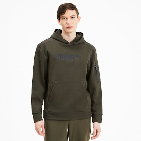 NU-TILITY Men's Hoodie, Forest Night, small