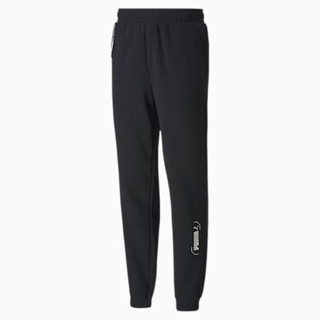NU-TILITY Men's Sweatpants, Puma Black, small