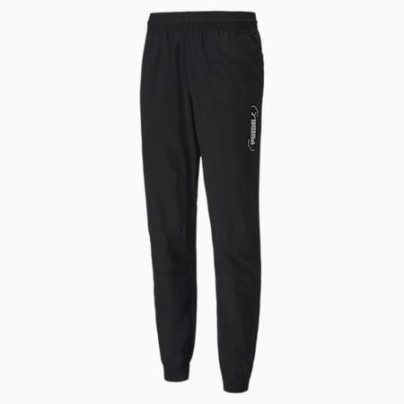 NU-TILITY Woven Men's Pants, Puma Black, small-SEA