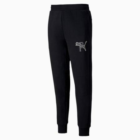 ATHLETICS Men's Pants, Puma Black, small