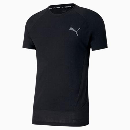Evostripe Slim Fit Men's T-Shirt, Puma Black, small-IND