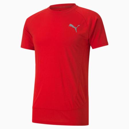 Evostripe Slim Fit Men's T-Shirt, High Risk Red, small-IND