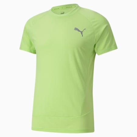 Evostripe Slim Fit Men's T-Shirt, Sharp Green, small-IND