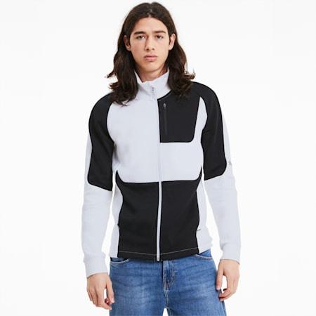 에보스트라이프 트랙 자켓/EVOSTRIPE Track Jacket, Puma White, small-KOR