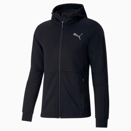 에보스트라이프 트레이닝 자켓, Puma Black, small-KOR
