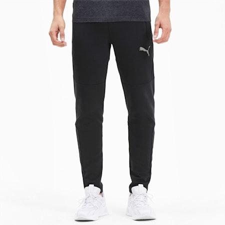 에보스트라이프 트레이닝 팬츠/EVOSTRIPE Pants, Puma Black, small-KOR