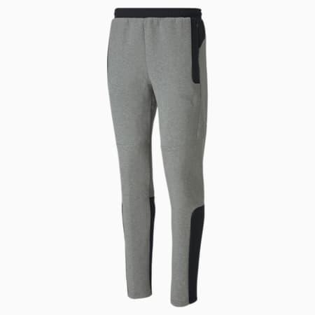 Pantalones Evostripe para hombre, Medium Gray Heather, small