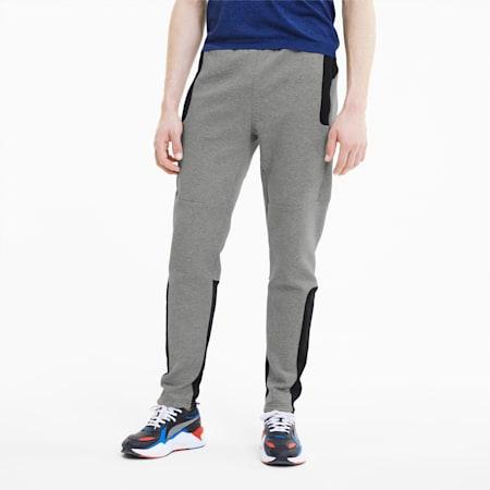 Evostripe Men's Pants, Medium Gray Heather, small