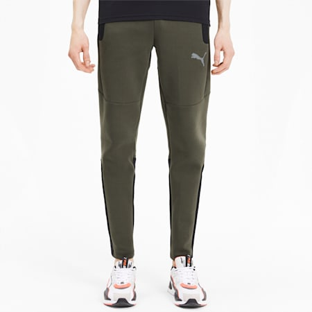 Evostripe dryCELL Men's Pants, Forest Night, small-IND