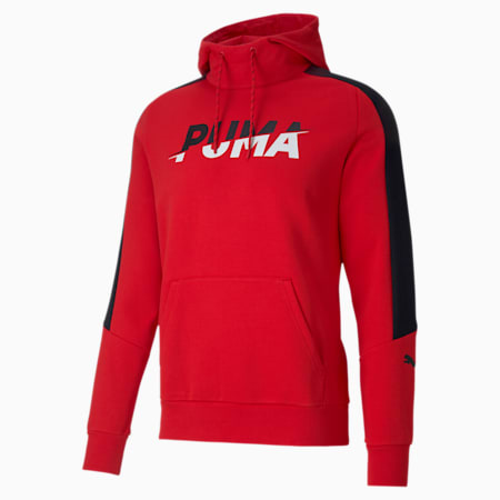 Sweatshirt à capuche Modern Sports pour homme, High Risk Red, small