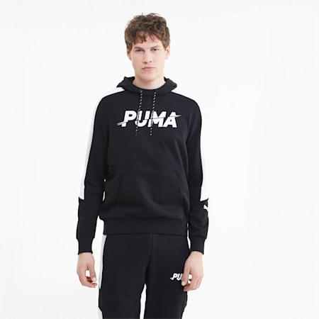 Modern Sports Men's Hoodie, Puma Black, small