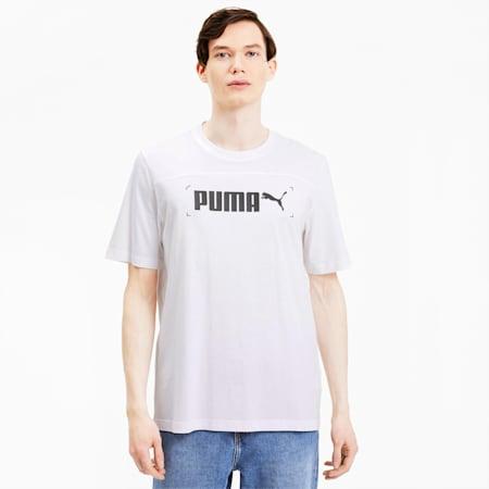 Camiseta para hombre NU-TILITY Graphic, Puma White, small