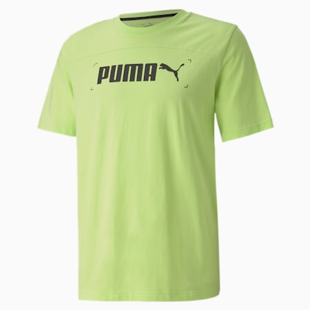 NU-TILITY Graphic Men's T-Shirt, Sharp Green, small-IND