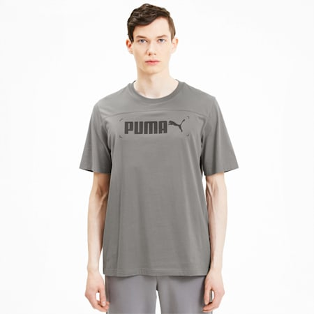 NU-TILITY Graphic Men's Tee, Ultra Gray, small-SEA
