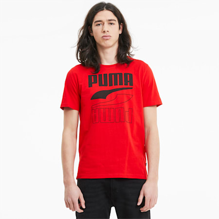 T-Shirt Rebel pour homme, High Risk Red, small
