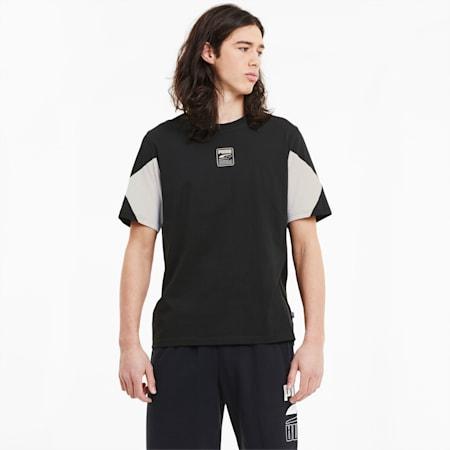 Męska koszulka Rebel Advanced, Puma Black, small