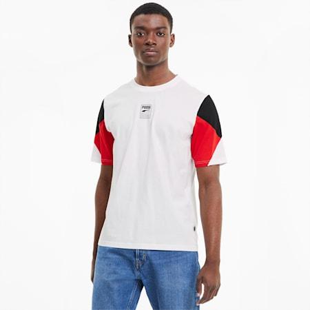 Rebel Advanced Men's T-Shirt, Puma White, small-IND