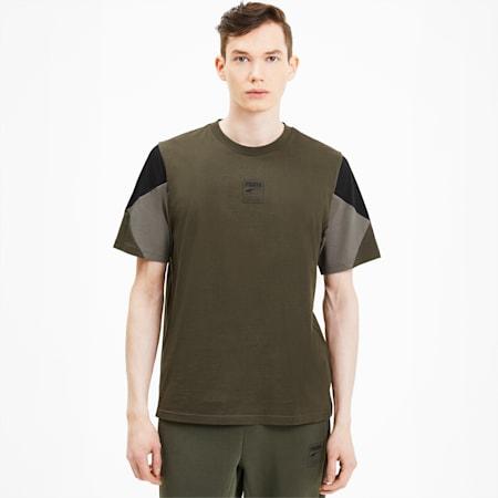 Rebel Advanced Herren T-Shirt, Forest Night, small