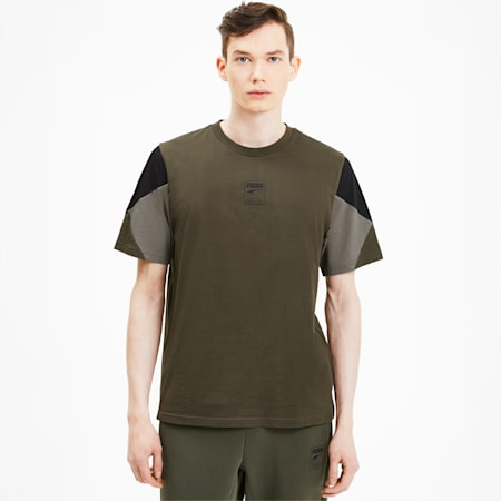 Rebel Advanced Men's Tee, Forest Night, small