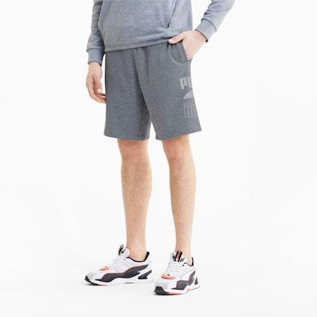 Rebel Men's Shorts, Medium Gray Heather, small