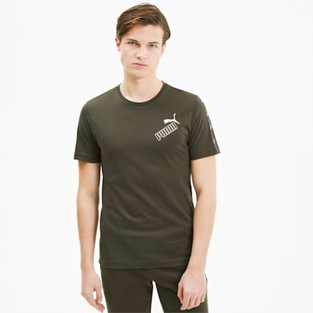 Amplified Herren T-Shirt, Forest Night, small