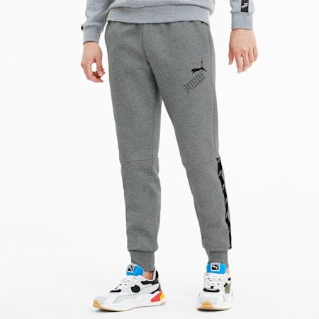 Amplified Men's Pants, Medium Gray Heather, small