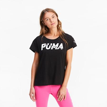 Camiseta para mujer Modern Sports Graphic, Puma Black, small