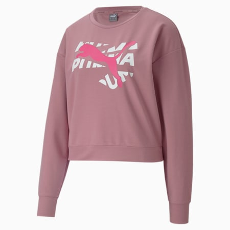 Modern Sports Women's Sweatshirt, Foxglove, small-SEA