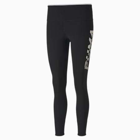 Modern Sports Women's Leggings, Puma Black-Puma White, small-SEA