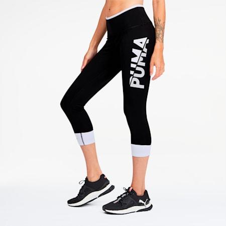 Modern Sports Women's 7/8 Leggings, Puma Black-Puma White, small