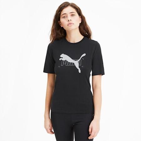 Damska koszulka NU-TILITY, Puma Black, small