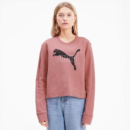 NU-TILITY Women's Sweater, Foxglove, small