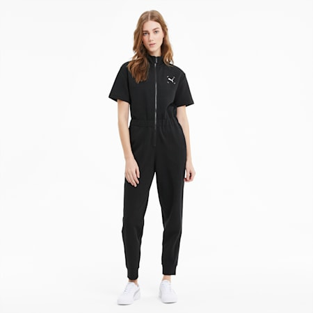 Nu-tility Women's Jumpsuit, Puma Black, small-SEA