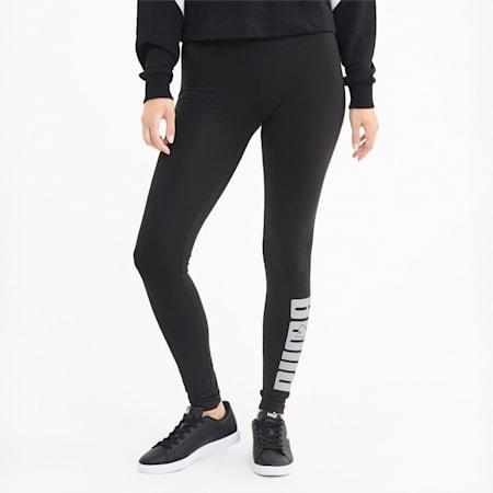 Rebel Damen Leggings mit Grafik, Puma Black, small