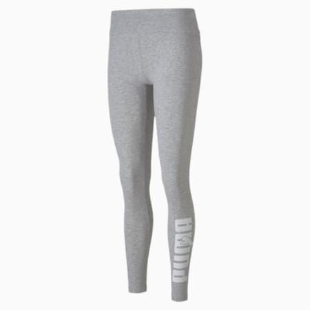 Rebel Graphic Women's Leggings, Light Gray Heather, small-GBR