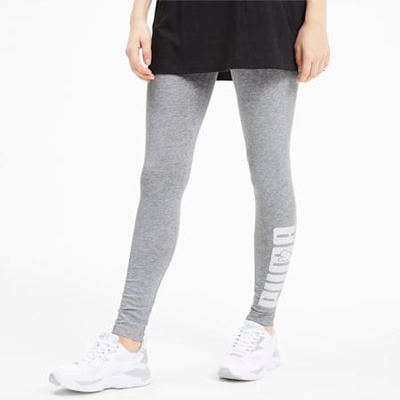 Rebel Graphic Women's Leggings, Light Gray Heather, small