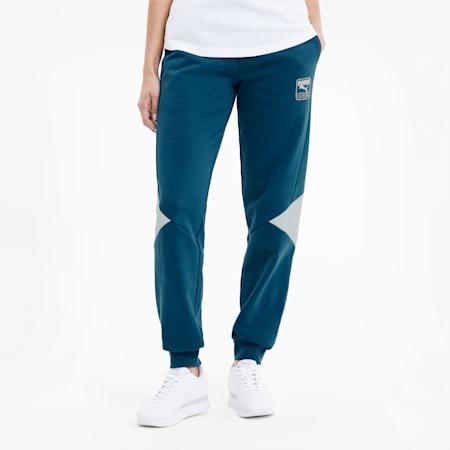 Pantalones deportivos Rebel para mujer, Digi-blue, pequeño