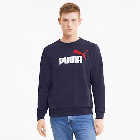 Essentials Men's Sweatshirt, Peacoat, small-GBR