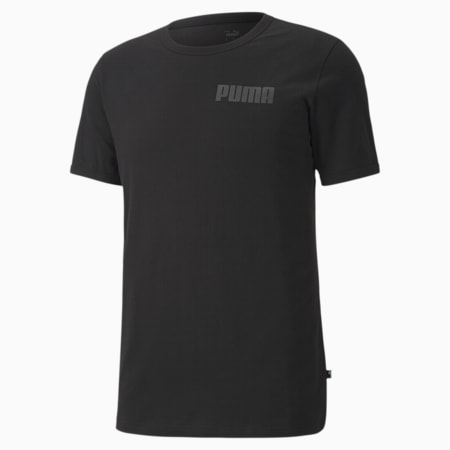 Modern Basics Men's T-Shirt, Puma Black, small-IND