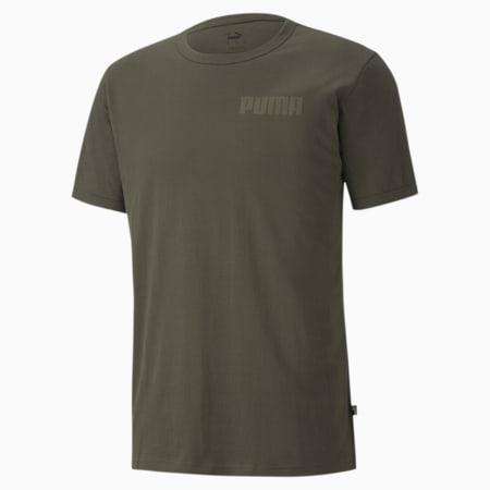 Modern Basics Men's T-Shirt, Forest Night, small-IND