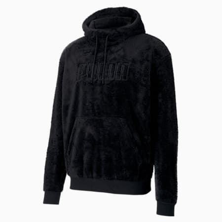 Modern Basics Men's Hoodie, Puma Black, small