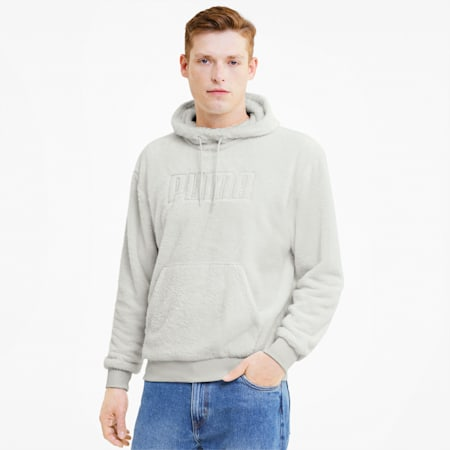 Modern Basics Men's Hoodie, Vaporous Gray, small